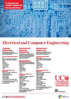 electrical and computer engineering poster