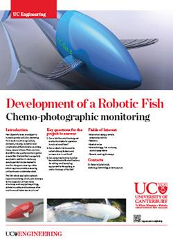 Development of a Robotic Fish engineering poster