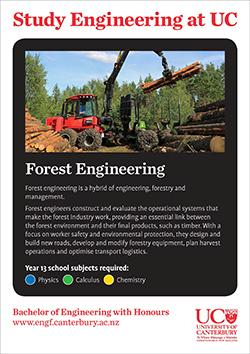 study engineering forest engineering
