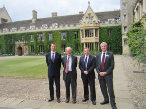 New Cambridge exchange opportunity for UC academics