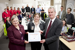 UC receives award for emergency management programme