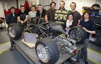 UC students design and build racing car