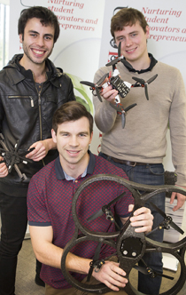 Canterbury students develop a personal robot