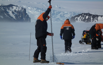 Investigating critical thickness of sea ice