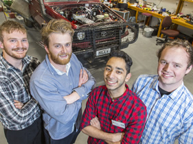 Electrical Engineering students spark at R&D Expo