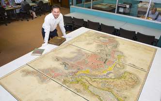 Library unearths the first geological map