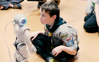 UC robots bring hugs to Big Science Day