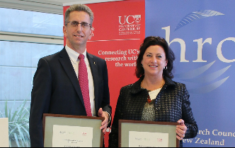 UC researchers honoured for work in health
